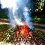 Вдыхание дыма от костра не менее опасно для здоровья, чем курение