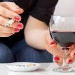 Ученые объяснили вред алкоголя в «никотиновом эквиваленте»